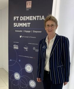 DR Emer Macsweeney at FT Dementia Summit